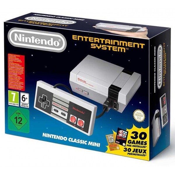 Nintendo Classic Mini Entertainment System-