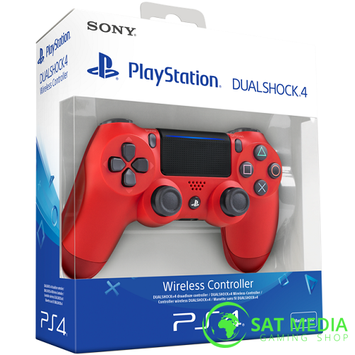PS4 Dualshock red