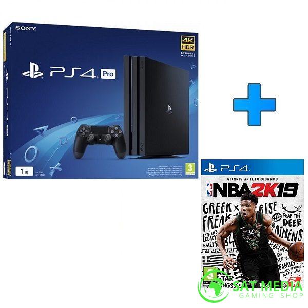 PS4 PRO 1TB Black+NBA 2K19 600×600