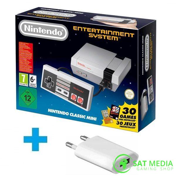 Nintendo-NES-Classic-Mini +punjač 600×600