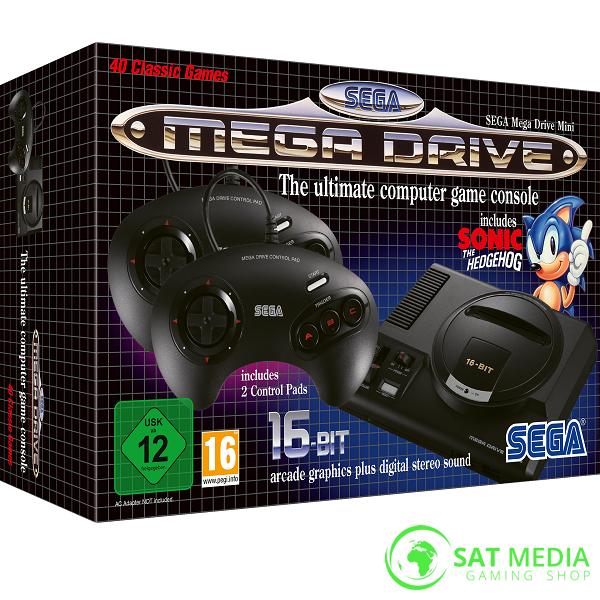 Sega Mega Drive konzola 600×600