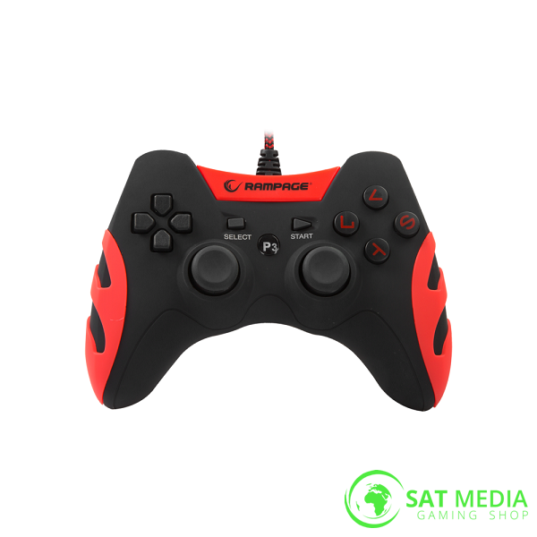 rampageps3controllerred