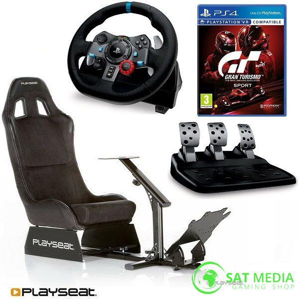 playseat-evolution-alcantra-stolica-za-igranje+volan G29 +GTS II satmedia 600×600