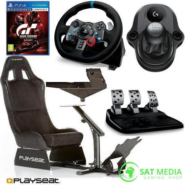 playseat-evolution-alcantra-stolica-za-igranje+volan G29 +mjenjač +GTS II satmedia 600×600
